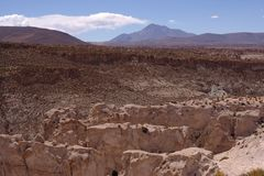Canyon Eduardo Andean National Reserve Stock Photo