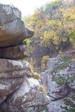 Canyon en automne images libres de droits