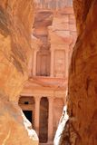 Canyon en Jordanie Images libres de droits