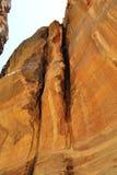 Canyon en Jordanie Images libres de droits