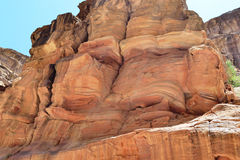 Canyon en Jordanie Photos libres de droits
