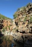Canyon en vallée de paradis au Maroc Images stock