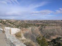 Canyon entrante Immagine Stock Libera da Diritti