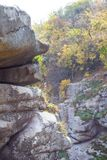 Canyon in the fall royalty free stock images