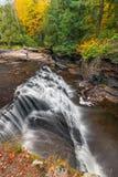 Canyon Falls Autumn Stock Photo