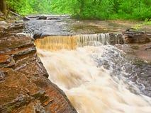 Canyon Falls Michigan Northwoods Royalty Free Stock Image