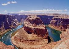 Canyon a ferro di cavallo Fotografie Stock Libere da Diritti