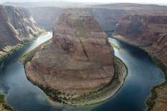 Canyon a ferro di cavallo negli Stati Uniti immagini stock libere da diritti