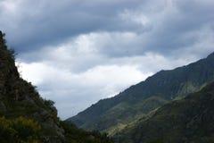canyon Fiume di Katun Fotografia Stock Libera da Diritti