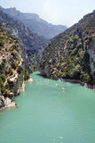 Canyon in France Stock Images