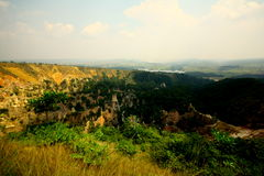 Canyon background Stock Photography