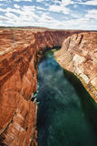 Canyon at Glen Dam in Page, Arizona Stock Photo
