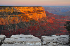 Canyon grand Arizona Photos libres de droits