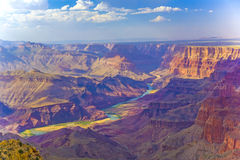 Canyon grand au lever de soleil Photographie stock libre de droits