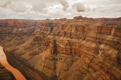 Canyon grand du Colorado Photographie stock