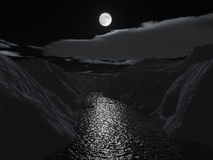 canyon grand halloween night Στοκ Φωτογραφία