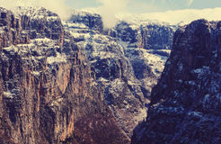 Canyon in Greece Royalty Free Stock Image