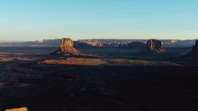 Canyon have widened until the land is sculpted into tableland and isolated pinnacles, Utah, USA royalty free stock photos