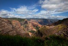 Canyon on Hawaii Stock Photography