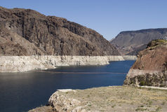 Canyon, Hoover Dam Royalty Free Stock Images