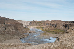Canyon in Iceland Stock Photos