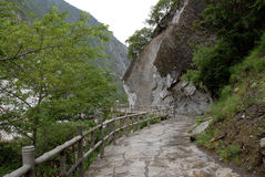 Canyon In Yunnan China Royalty Free Stock Images