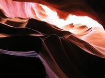Canyon intérieur 11 d'antilope photographie stock