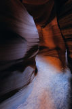 Canyon interno dell'antilope Immagine Stock