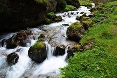 Canyon Italie de Sottoguda Photos libres de droits