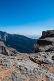 Canyon Jabek Shams Oman Royalty Free Stock Photo
