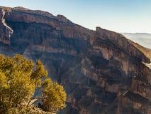 Canyon. Jebel Shams, Balcony Walk, Oman Royalty Free Stock Photography