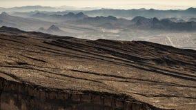 Canyon. Jebel Shams, Balcony Walk, Oman Royalty Free Stock Photo