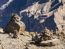 Canyon. Jebel Shams, Balcony Walk, Oman Royalty Free Stock Photos