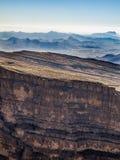 Canyon. Jebel Shams, Balcony Walk, Oman Stock Photo