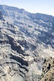 Canyon Jebel Shams Royalty Free Stock Images