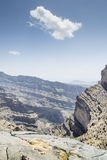 Canyon Jebel Shams Stock Images