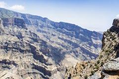 Canyon Jebel Shams Royalty Free Stock Photos