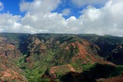 Canyon Kahuai di Waimea Fotografia Stock Libera da Diritti