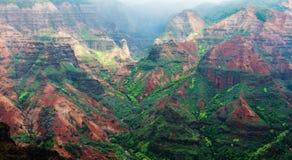 Canyon Kauai Hawaï de Waimea Photo libre de droits