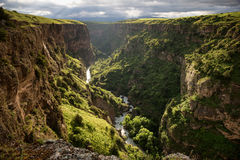 Canyon in Kazakhstan Royalty Free Stock Images