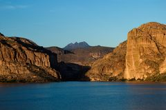 Canyon lake Stock Photo