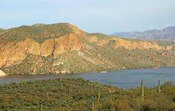 Canyon Lake. From Apache Trail, Arizona stock photos