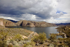 Canyon Lake Arizona Stock Image