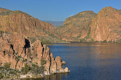 Canyon Lake, Tonto National Forest Royalty Free Stock Photos