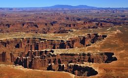 Canyon lands national park Royalty Free Stock Photo