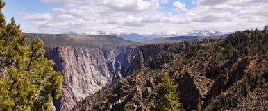 Canyon Landscape in Colorado, USA Stock Photo