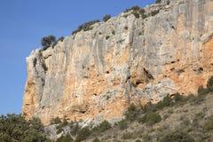 Canyon Landscape; Nuevalos, Aragon Stock Image