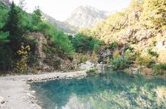Canyon landscape in Turkey royalty free stock images