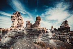 Canyon on Lanzarote Stock Photography