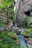 Canyon Liechtensteinklamm Royalty Free Stock Images